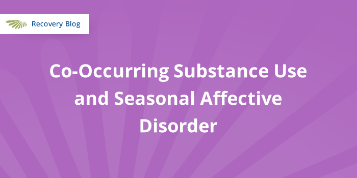 Co-Occurring Substance Use and Seasonal Affective Disorder Banner