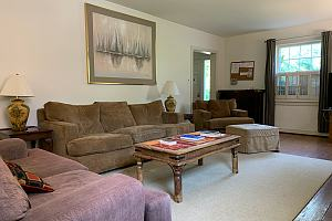 Living room in intensive outpatient program housing
