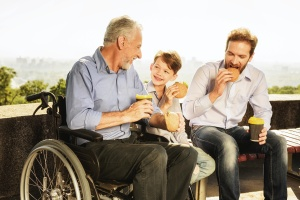 3 generation of boys in a Family Recovery Program