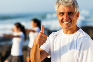 active man happy he found his recovery center